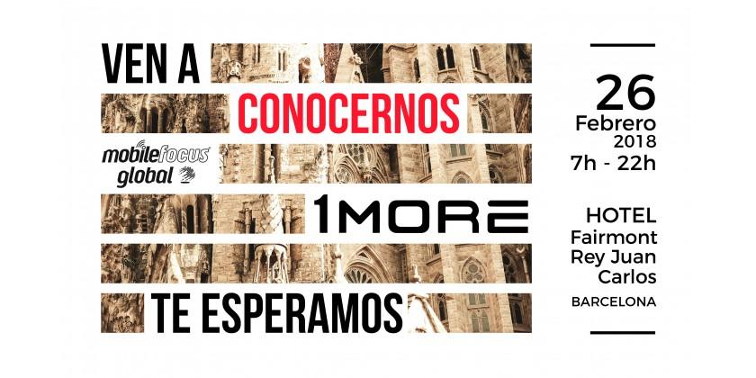 1MORE Visitara La Mobile World Congress en Barcelona