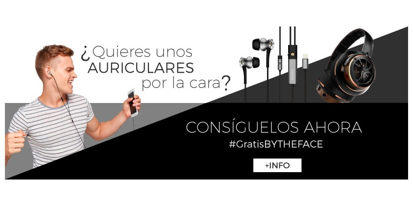 AURICULARES 1MORE GRATIS BY THE FACE